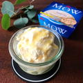 【簡単デザート】レモンバターアイス&コーヒーバターナッツアイス*MOW(モウ)を使ったレシピです