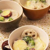 ほかほか♪冬野菜のマカロニシチュー*ルー不要*、我が家の圧力鍋の話