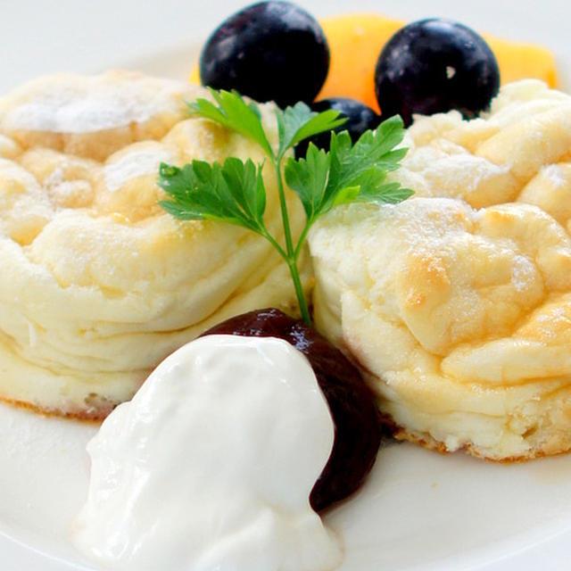 マスカルポーネでパンケーキ