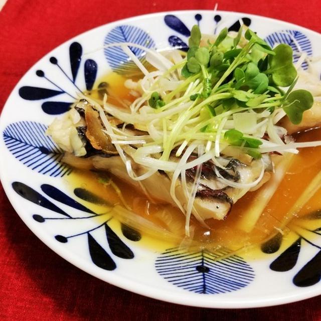 イガミの中華風蒸し魚(清蒸魚/ちんじょんゆい)