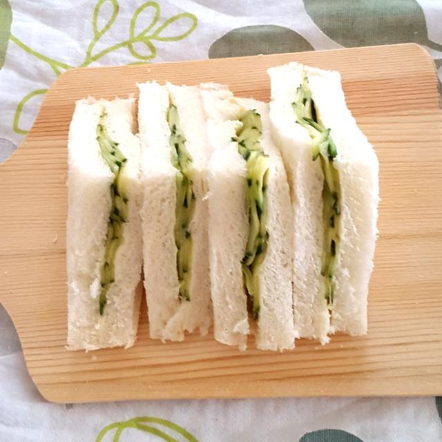 英国貴族も溺愛 胡瓜のサンドイッチ