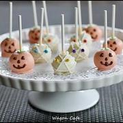 パンプキン cake pops** Pumpkin Cake Pops