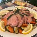デリバリー料理から・・「ハウス魅惑のハリッサ」で味付け簡単豚肉のグリル焼き!1