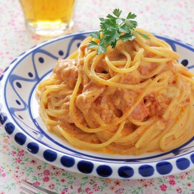クセになる美味しさ♪スパゲティ カルボトマト