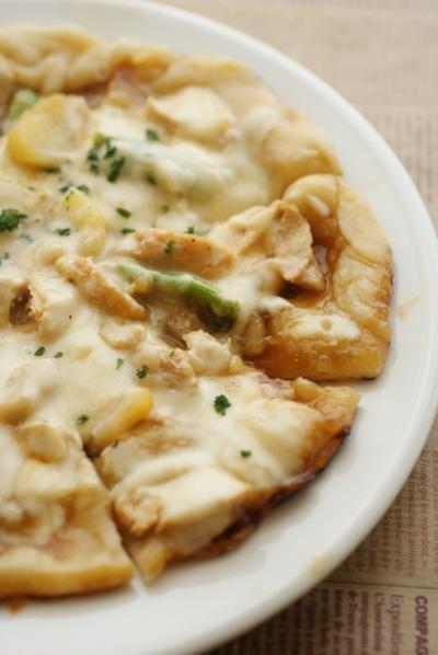 フライパンでクリスピーピザ