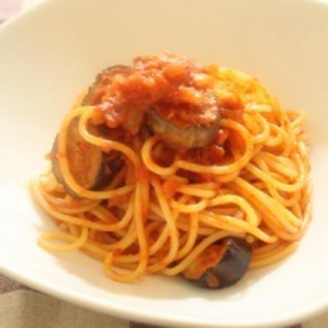 サマープレイナイト&塩辛が隠し味の♪長なすのトマトソーススパゲッティ