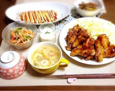 auショップ店員へのイライラ★〜鶏の手羽元フル活用♡