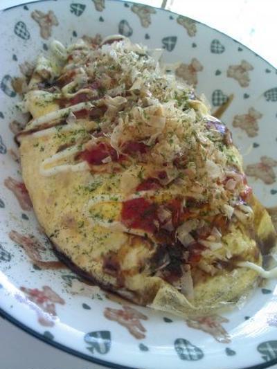 レシピ簡単オムソバ