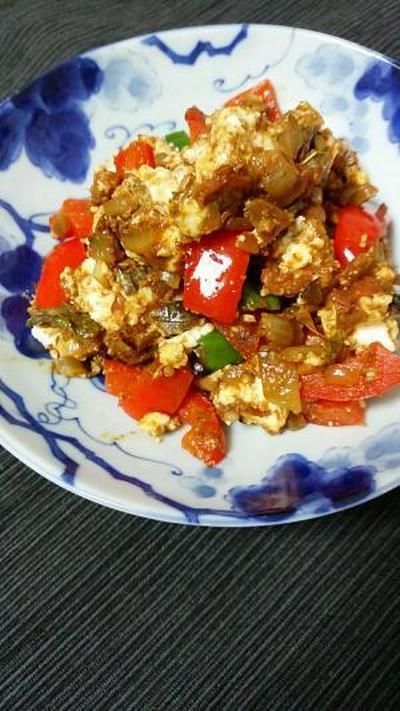食道全体が柔らかな芳香につつまれる。パニールのスパイス炒め。