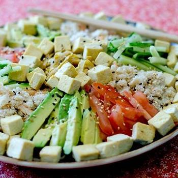 蕎麦のサラダ (グルテンフリー)
