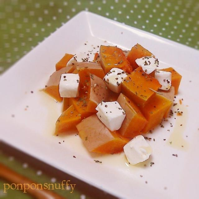 バターナッツかぼちゃdeお手軽前菜