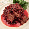 牛肉とビートの煮込み料理 究極の貧血予防のレシピ