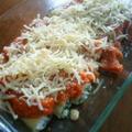 ほうれん草とリコッタチーズのカンネローニ