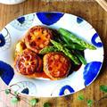 ♡卵不使用♡照り焼きれんこんハンバーグ♡【#ひき肉#簡単#つくね#ヘルシー#カサ増し#お弁当】