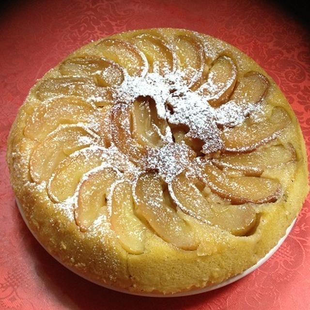 リンゴのケーキ