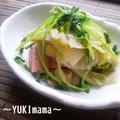 スパムと白菜のくたっと煮。。sutudio rさんでpicupされました^^ by YUKImamaさん