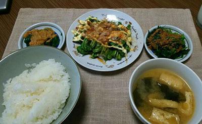 5月26日。山菜採りに行ったらしい。