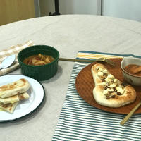 今日はナンの日☆チーズナンとハニークリチナッツの本格ナン&カレー体験イベント
