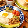 621円*キムチで簡単ワンプレート♪豚キムチ定食