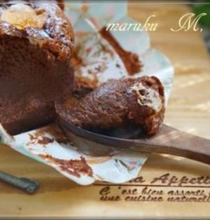 簡単!チョコスプレッドと卵でチョコブランデーケーキ
