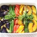 常備菜~夏野菜の揚げ浸し~お野菜たっぷり食べましょう♪ by makko(北島真澄)さん