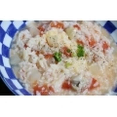 ≪鶏肉と冬瓜の トマトチーズリゾット風≫