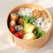 ◆豚のエノキチーズロール弁当