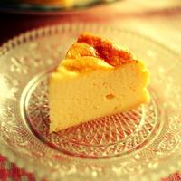 クックアップで水切り簡単! ヨーグルトケーキ