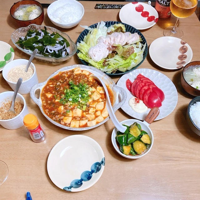 父の日*麻婆豆腐の週末ごはん