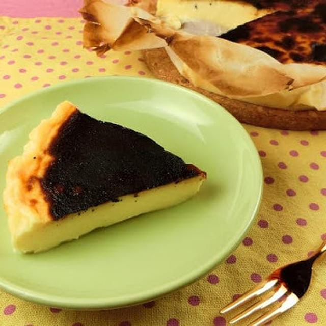 話題の黒く焦げたスイーツ!バスクチーズケーキのレシピ