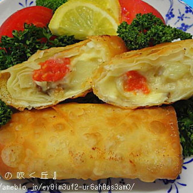 ◆№2 残ったシチューをリメイク!シチューとチーズの春巻き◆