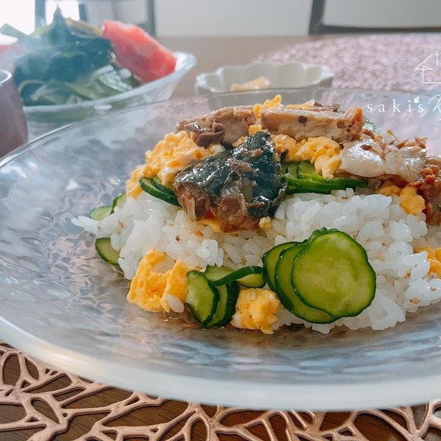 火を使わず♡鯖の簡単混ぜ寿司*大人気腸活レシピとおやつ