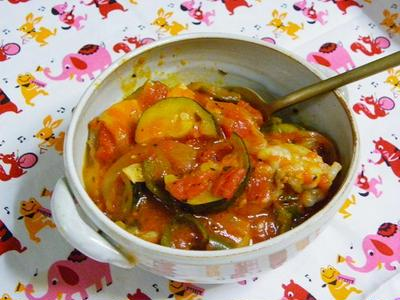 ☆鶏肉と野菜の夏煮込み☆