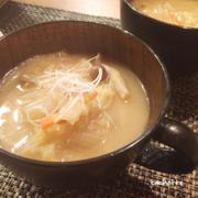 白菜の大量消費。白菜どっさり☆食べるスープ