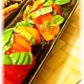 シンプル◎トマトのカルパッチョ