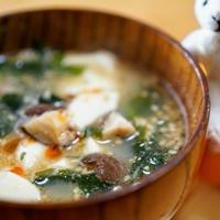 豆腐ごまスープ☆