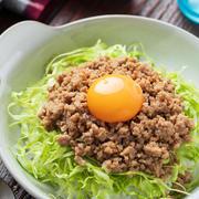 ピリ辛♡肉味噌キャベツ丼【#作り置き #冷凍保存 #お弁当 #レンジ #ランチ #主食】