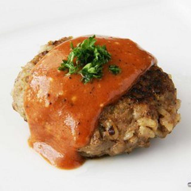 麹入り ご飯ハンバーグ