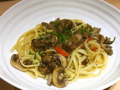 >牡蠣のオイル漬けを使ってペペロンチーノレシピ by イクコさん