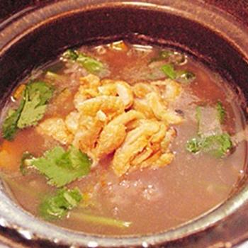 中華粥(鶏肉・かぼちゃ)