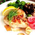 鶏胸肉のヨーグルトハーブチキン