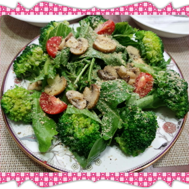 モリモリ野菜サラダ&ローストビーフ