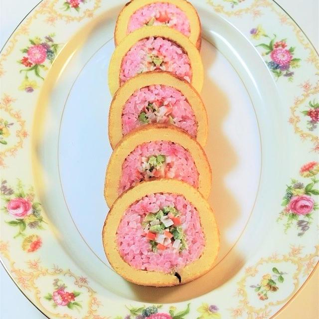 簡単かわいい ♡ 伊達巻寿司*バレンタイン♥お花見♥母の日♥お弁当♥おもてなし