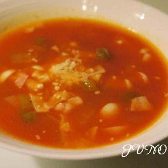 ☆簡単!トマト風味の野菜スープ☆