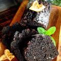 デコポンの砂糖漬け[LIMIA]チョコとオレンジピールのブラックパウンドケーキ