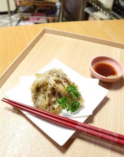 舞茸の天ぷら※簡単な天ぷら粉の作り方※