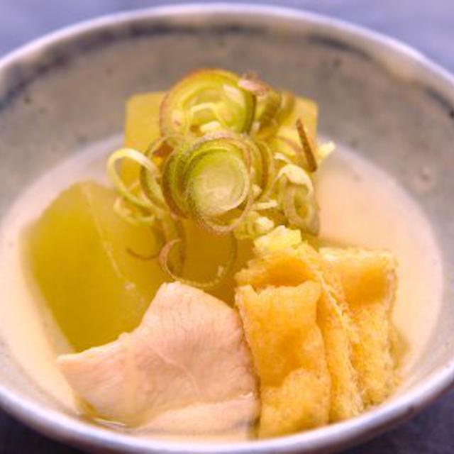 冬瓜と鶏の煮物