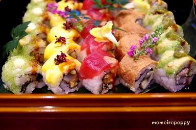 銀座で咲乱れるロール寿司!神々しいイクラ![SHARI THE TOKYO SUSHI ...