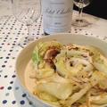 初夏のすっきり白ワインに「春キャベツのクミンソテー」。 by イェジンさん