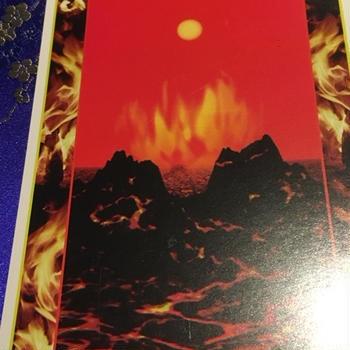 8/6(木)ラッキーカード「FIRE」破壊と再生